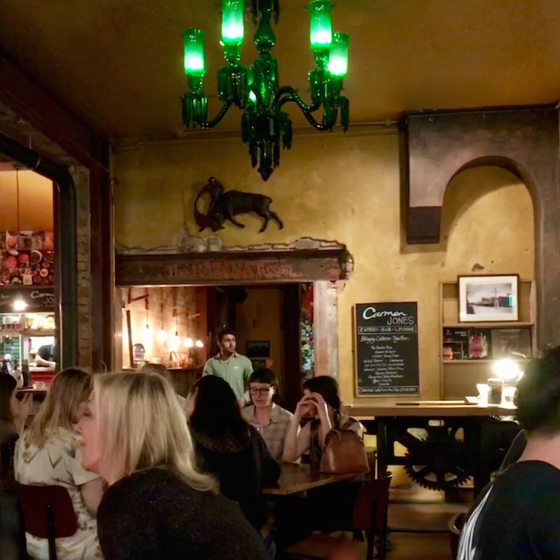 Carmen Jones bohemian interior Karangahape Auckland Tapas Bar Restaurant